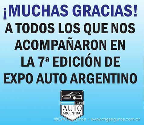 EXPO AUTO ARGENTINO 7º EDICION – 15/05/2016